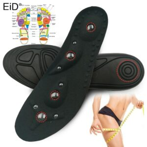 EiD High quality Magnetic Therapy Magnet Massage Insoles Weight Loss Slimming Insole Men/ Women Shoe Comfort Foot Care Shoe Pads