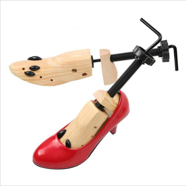 JX10 1PC pine wood shoes and shoes expander wooden shoes support men and women adjustable shoe support