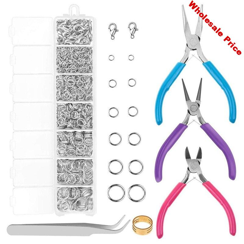 Jump Rings and Jewelry Pliers for Jewelry Making