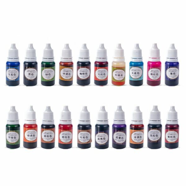 20 Color Epoxy & UV Resin Pigment Universal Resin Dye Super Concentrated Translucent Epoxy Pigment Resin Colorant Crafts