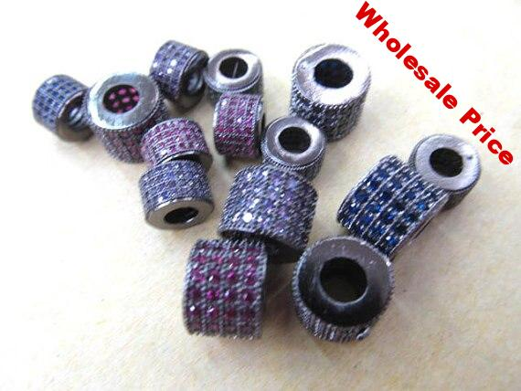 Assortment Micro Pave CZ Spacer
