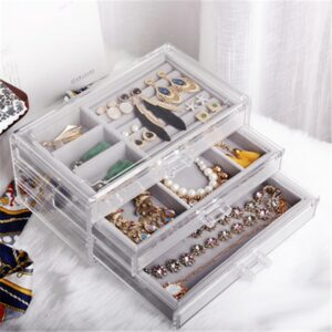 240*135*110mm jewelry display tray Jewelry Organizer Case Jewellery Box Holder Stand Jewlery Box Bracelet Display Trays