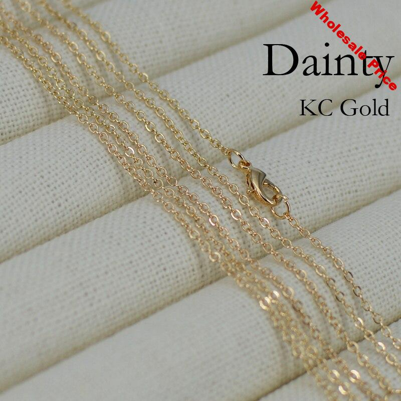 100 pcs- Thin 18 Inch Chain Necklace