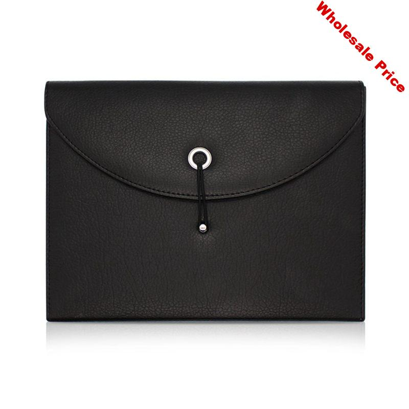13 Pockets Office A4 Document Wallet -Expanding File Organizer Accordion Business Folder - Easy Closure Design - Conference / Po