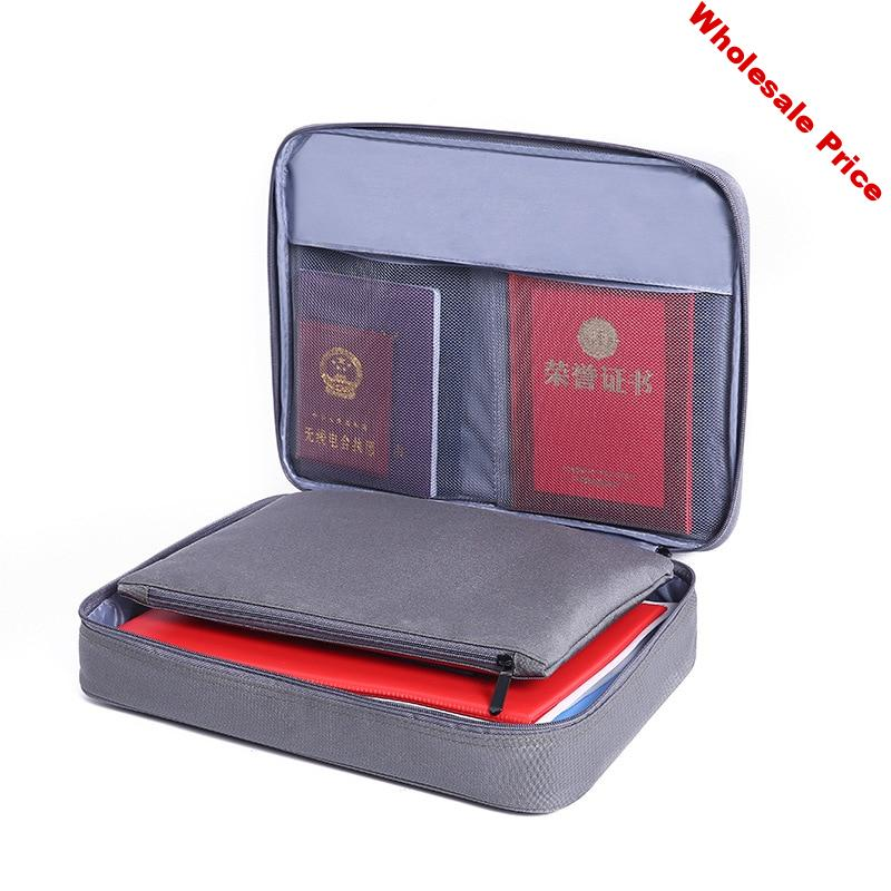 JULY'S DOSAC Business Briefcase Bag Men's Document IPAD Electronic Storage Document Pouch Organizer Case Accessories
