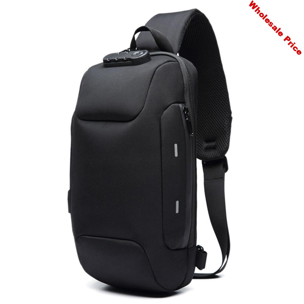 2020 New Men Water Resistant Backpack Anti-Theft With 3-Digit Lock Backpack For Mobile Phone Travel Male Bag Mochila Masculina