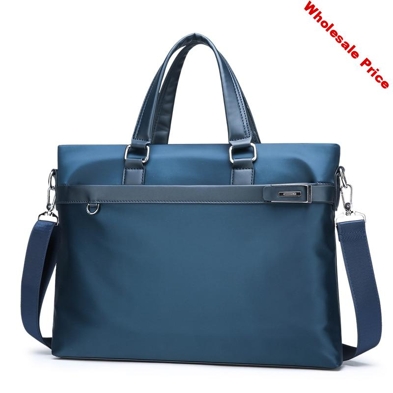 New Fashion Briefcase Oxford Water Proof Unisex Briefcase Causal Man' Shoulder Cross body Bag Laptop Message Bag Travel Bag