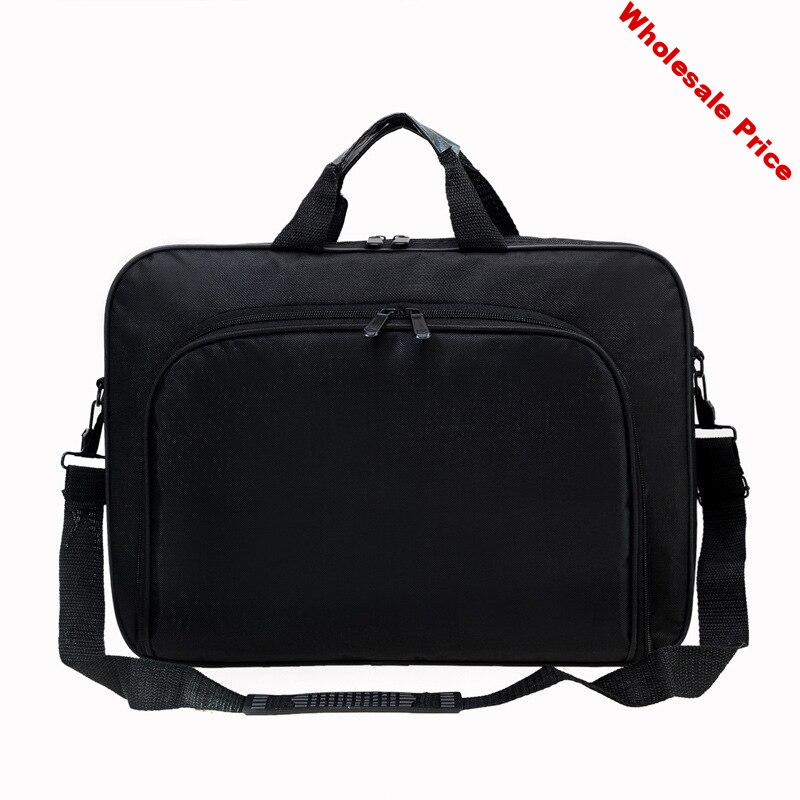 cheap bag 15.6 Inches Portable Work Business Office Laptop Bag Men Waterproof Portable Computer Case Briefcases Notebook Bag