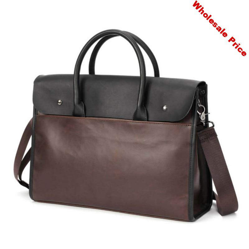 Tidog korea carzy house leather Package Travel Bag File Bag laptop briefcase
