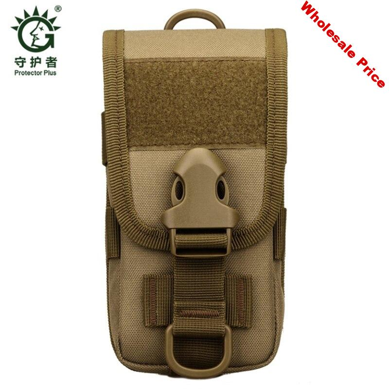 5.8-inch mobile phone complete cover tactical tool  belt waist package small Nylon leisure waterproof oblique Bag