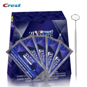 3D White LUXE Professional Effect Oral Hygiene Tooth Whitestrips Steel Dental Kit Toothbrush Teeth Whitening