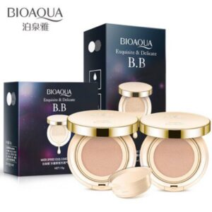 (Buy 1 send 1 Refil)-2Pcs BIOAQUA Exquisite And Delicate BB Cushion Cream