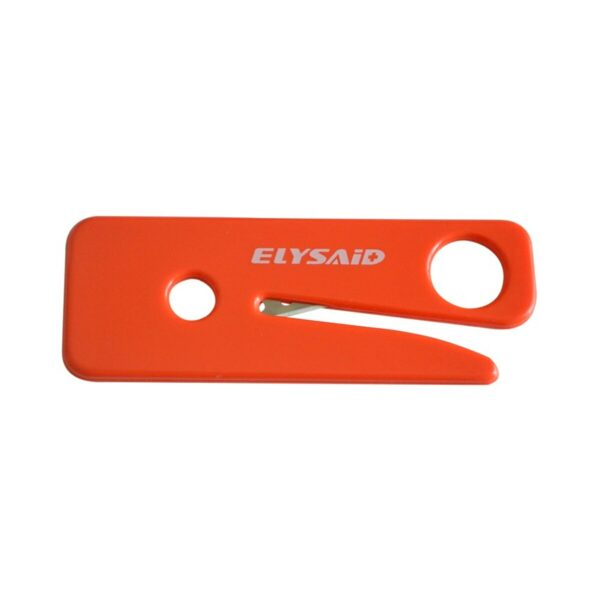 12Pcs Plastic Red Safety Knife Outdoor Emergency Survival Tool Multi-Function Utility Blade