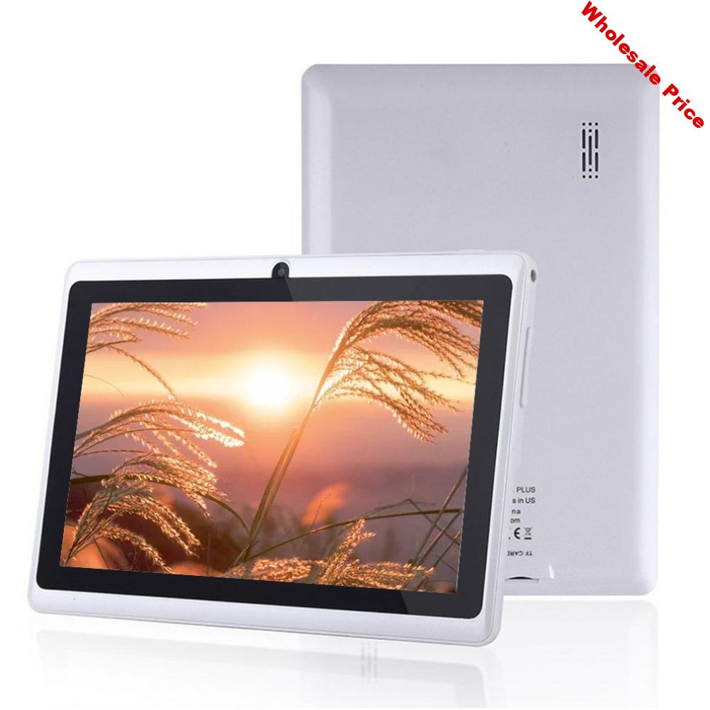 7 Inch Wifi Tablet Computer Quad Core 512 + 4Gb Wifi Custom Android Processor Frequency Intelligent Gravity Sensor