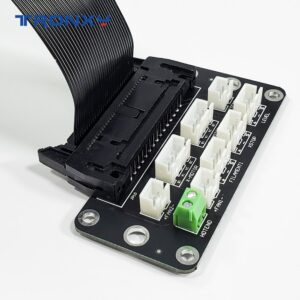 Joining Plate 3D Printer Parts Adapter Board 85cm 30Pin Cable Set Connect to X5SA Series XY2 Pro Use for Tronxy Silent Mainboard