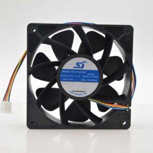 For SJ SG121238BS DC 12V 2.7A S7 S9 T9 L3 Server Square Fan violence Fan