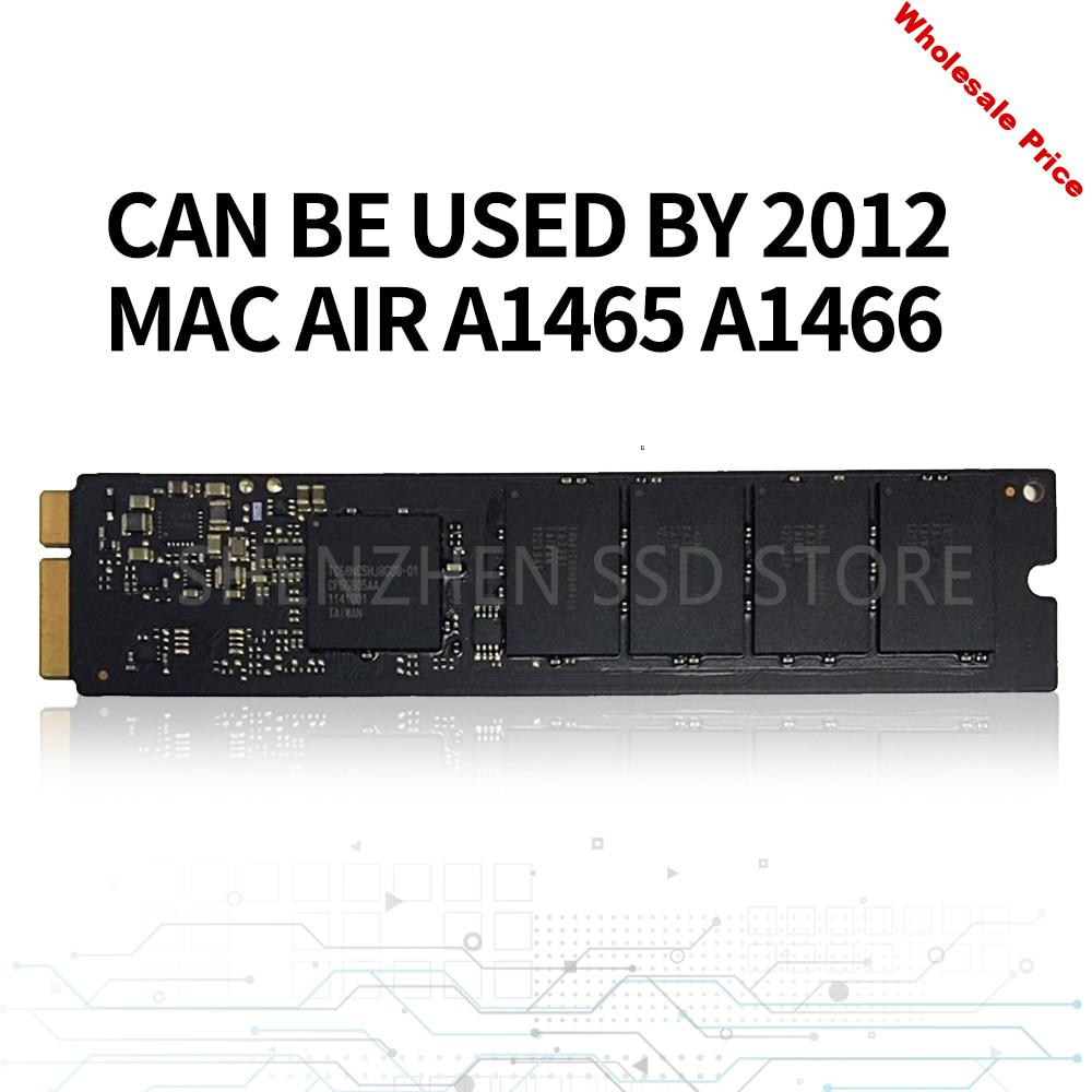 Original 64G 128G 256G SSD For 2012 Macbook Air A1465 A1466 SOLID STATE DISK Md231 md232 md223 md224 hard disk