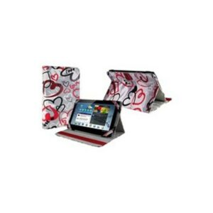 E-vitta crazy hearts booktype case with stand for tablet 9.7''