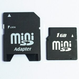 10PCS/LOT  64MB 128MB 256MB 512MB 1GB 2GB MiniSD Card MINISD Memory Card with adapter Mini SD card Phone card