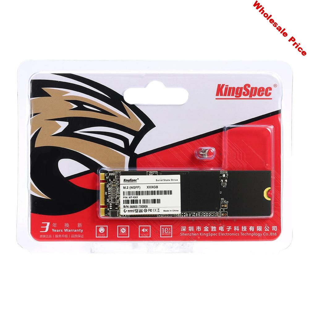 KingSpec SSD M2 M.2 NGFF SSD M2 128 GB 256 GB 512 GB 1TB NGFF M.2 SSD SATA 2280MM SSD HDD For Desktop Laptop Disk Free Shipping