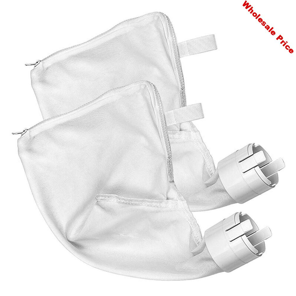 2pcs All Purpose Polaris Bags Pool Cleaner Suction Machine Zipper Bag Replacement For Pool Cleaner All Purpose