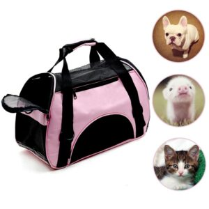 Outdoor Pet Dog Carrier Bag Portable Pet Bag Outgoing Travel Breathable Pets Handbag for Cat Dog Handbag Shoulder Bags