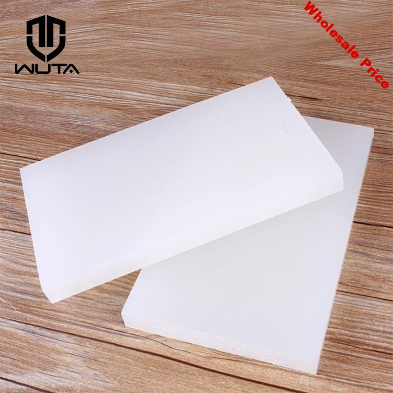 WUTA 20x12cm High Quality PVC White Cutting Board Rubber Mallet Mat Leather Craft Tools For Cutting Punching Stamp 2Type Choose