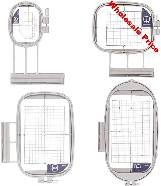 4Hoops for Brother Embroidery Machine Duetta 4500D 4750D Quattro 6000D 6700D Innov-is 2500D 1500D 4000D(SA437