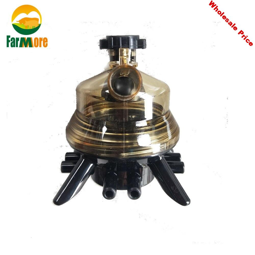 1PC 150CC Cow Goat Milking Machine Part Milk Collector For Cattle Sheep Milking Machine Replacement Farm Livestock Tool