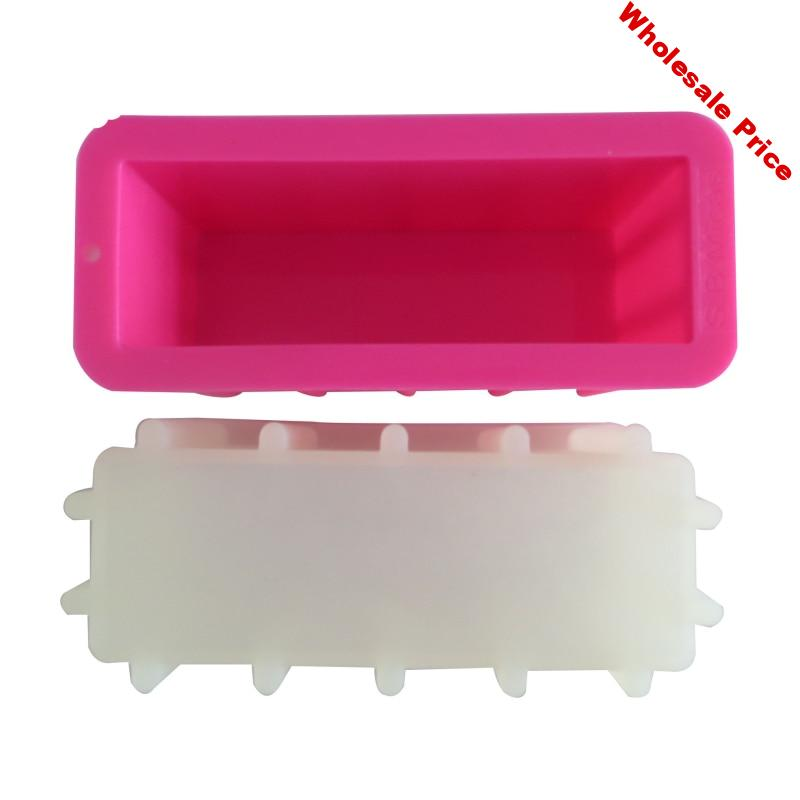 Hot Rectangle Tall Skinny Loaf Toast Silicone Mold Mousse Cake Toast Silicone Bakeware Cake Tools Handmake Loaf Soap Crafts