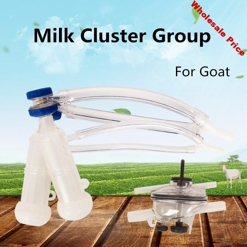 Goat Milking Cluster Group with Milk Claw for Milking Machine Spare Parts