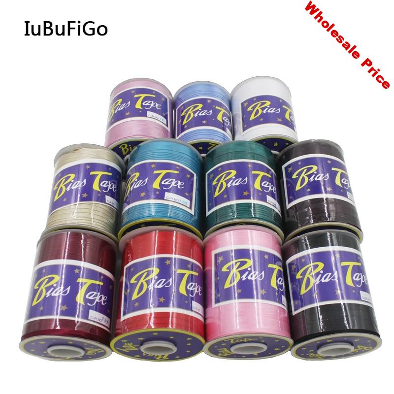 """100yard Polyester 5/8""""(15mm) Satin Bias Tape Bias Binding Solid Color For DIY Garment Sewing And Trimming"""