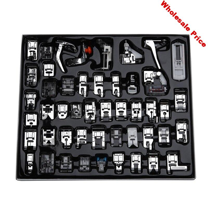 Professional 48pcs Sewing Machine Presser Feet Set for Brother