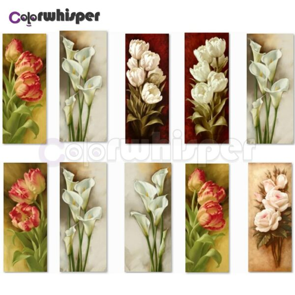 Diamond Painting Full Square/Round Drill Flower Calla Lily 5D Daimond Painting Embroidery Cross Stitch Mosaic Picture Art  Z1601