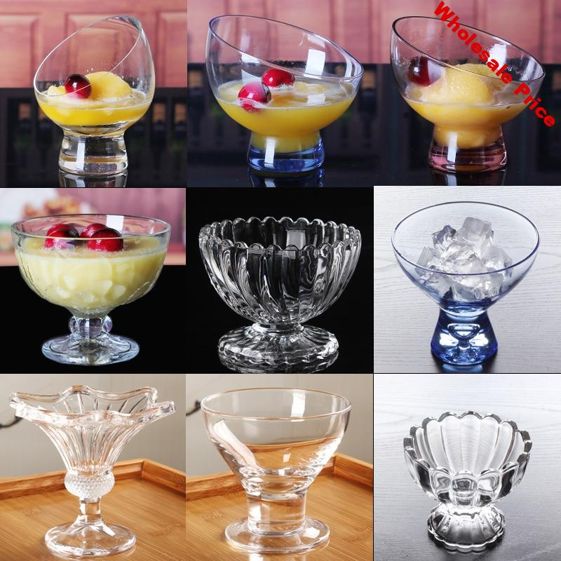 Glass Ice Cream Cup Cold Drink Dessert Bowl Drinks Juice Cup Sand Pull Cup Restaurant Hotel Ice Cream Milkshake Cup Vaso Cups
