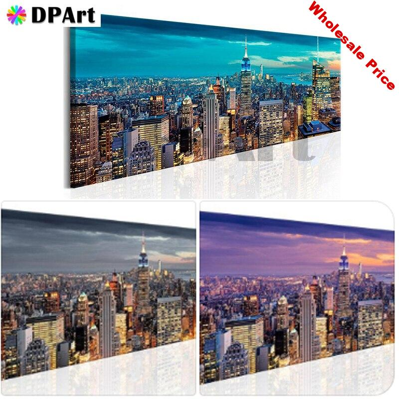 Daimond Painting Full Square/Round Drill City View 5D Diamond Rhinestone Embroidery Painting Cross Stitch Picture Art M1557