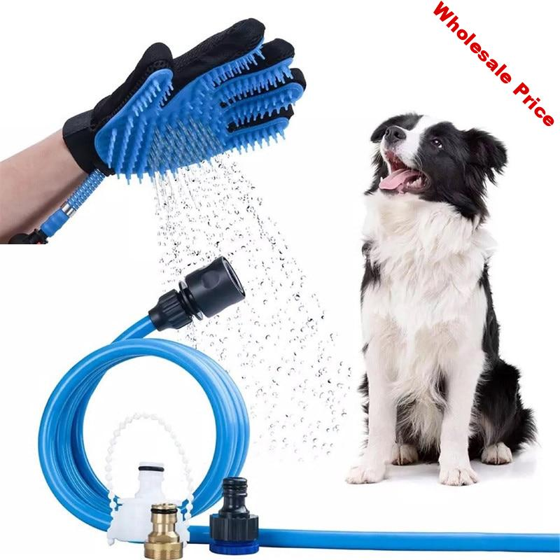 ThinBest Multifunction Pet Bathing For Dogs Massage Chuveiro Pet Cleaner Dog Bath Gloves Washing Dog Sprayer Cleaning Supplies