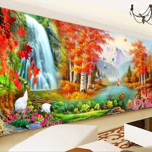 5D Diamond Painting Full Drill Diamond Embroidery Rhinestone Paintingc DIY Cross stitch Landscape painting Home Wall Decor