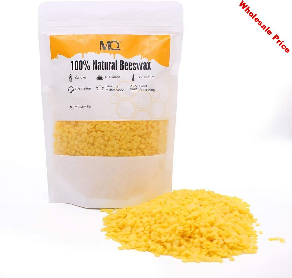 Beeswax Pellets Premium Natural Pure Bees Wax for DIY Candles/Lip Balm/Skin Care