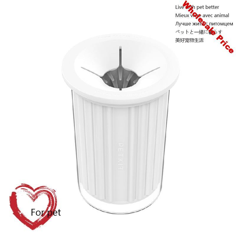 Pet Dog Paw Cleaner Cup Soft Silicone Combs Pet Foot Washer Clean Brush Quickly Wash Dirty Cat Foot Cleaning Bucket Gentle Porta