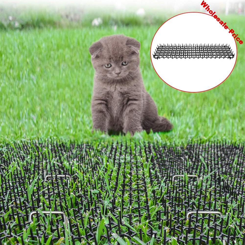 Practical Home Easy Install Car Durable Anti Cat Roof Spine Proof 2m Protect Kitten Pet Drive Garden Wall Stab Mat