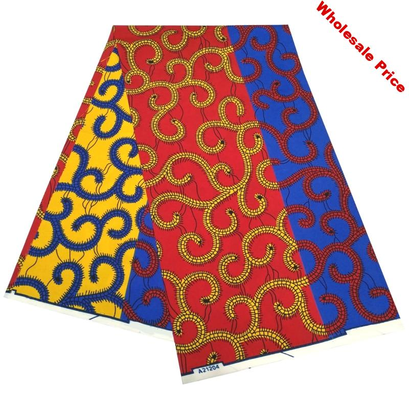 Hot sale african ankara fabric new arrival african wax print fabric 2020 african fabric polyester for party dress 6yards per lot