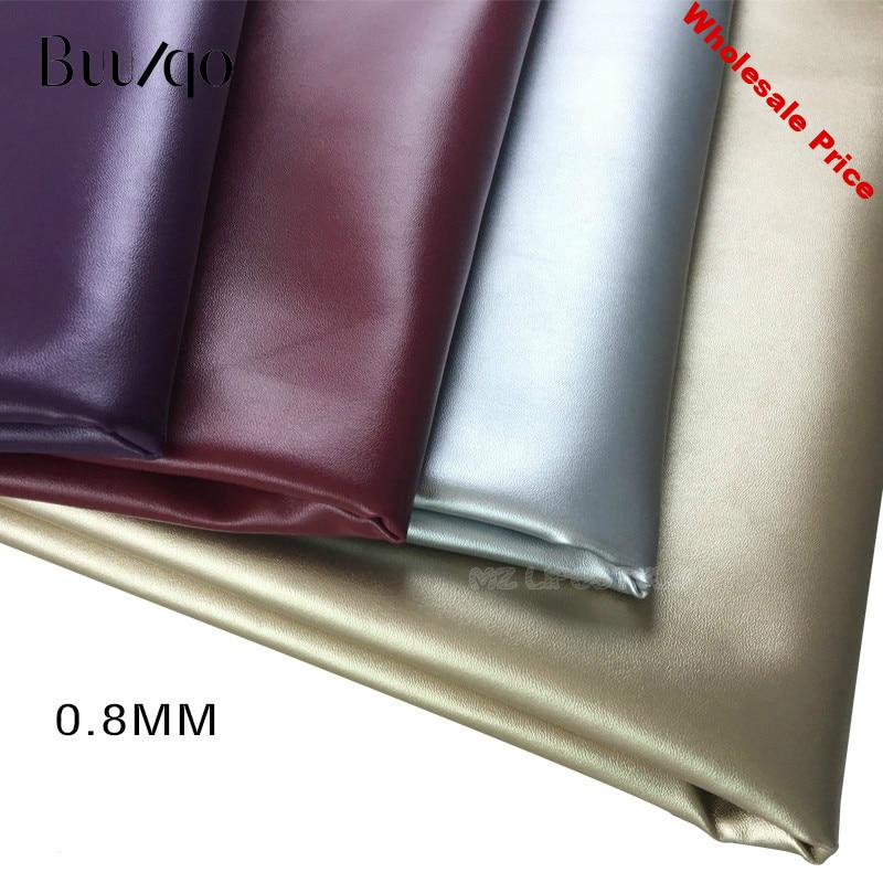 buulqo PU Napa leather soft bag leather Faux Leather Fabric for Sewing