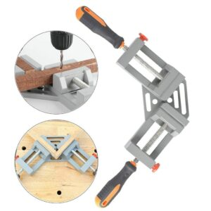 #20 Right Angle Clamp 90°Degree Frame Corner Holder Double Handle Wood Metal Welding Home improvement Hand Tools