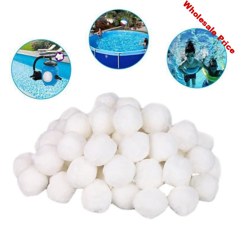 1400G White Filter Balls Eco-Friendly Swimming Pool Cleaning Equipment Filter Water Purification Fiber Cotton Balls