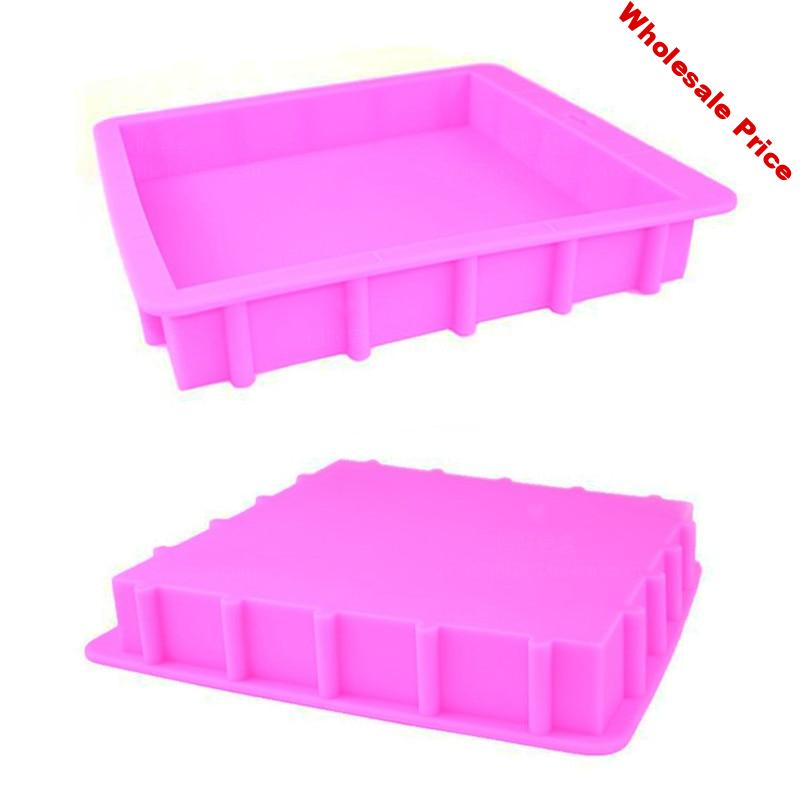 3000ML Silicone Rendering Soap Mold DIY Square Handmade Loaf Thickened Soap Mould 3KG Capacity Soaps Making Tools