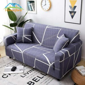 Elastic Sofa Cover for Living Room Slipcovers Furniture Protector Stretch Polyester Armchair Couch Cover