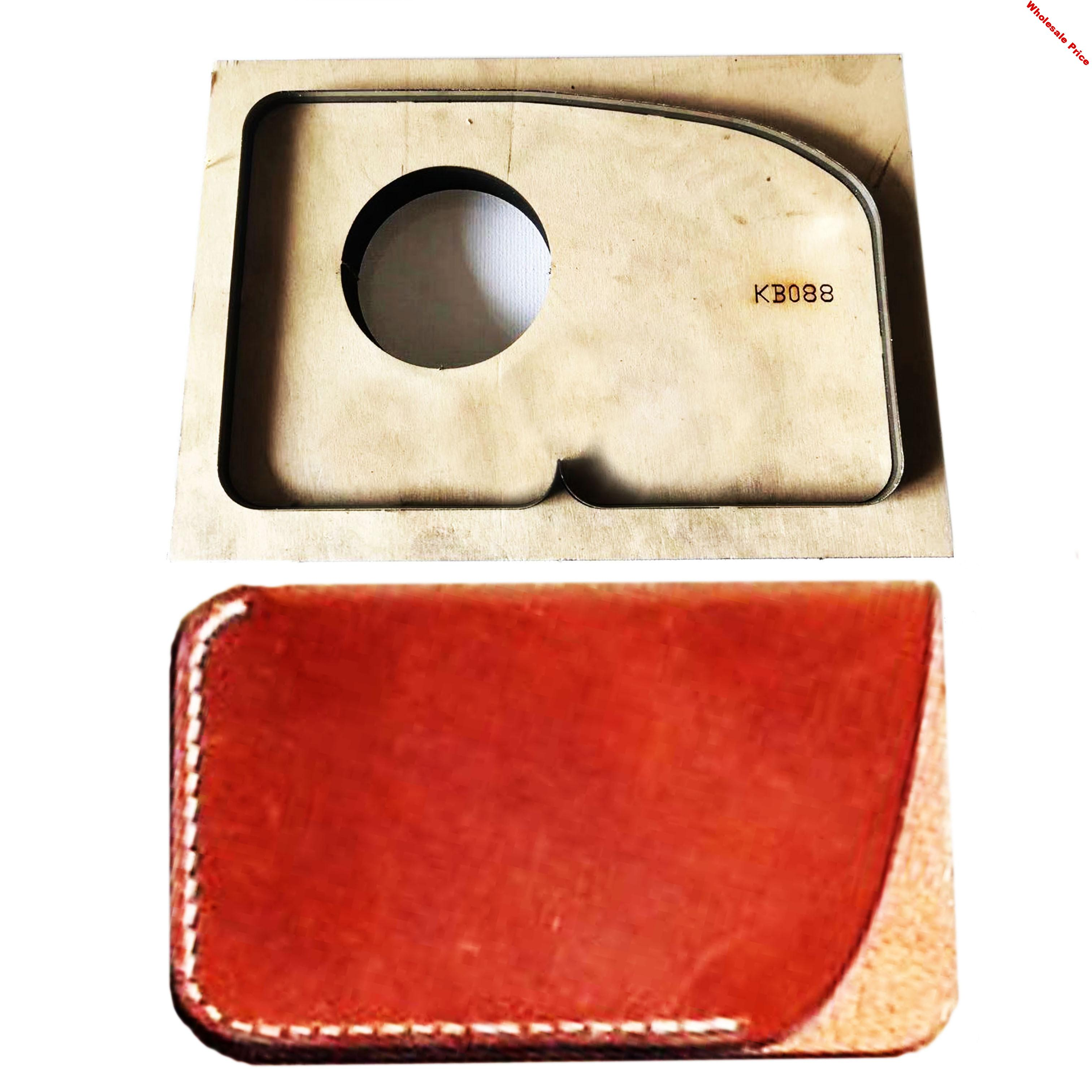 Japan Steel Blade Wooden Die Card Bag Wallet Leather Craft Punch Hand Tool Cut Knife Mould Sewing Accessories110x75mm
