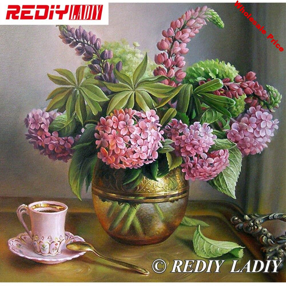 30x31cm Accurate Printed Crystal Beads Embroidery Kits Still Life Flowers Beadwork Crafts Needlework Beaded Cross Stitch APT649