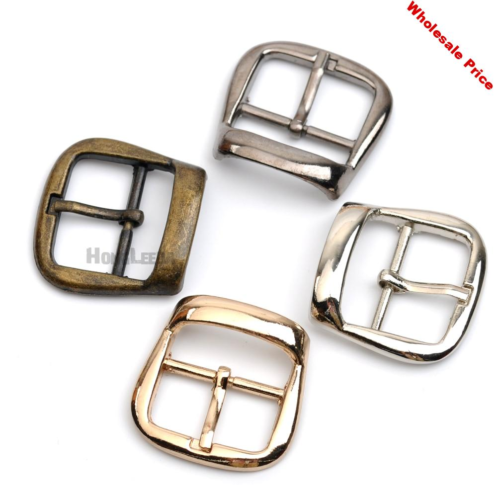 25pcs Metal Buckle hook buckle clip 22mm fashion metal buckle with pin bronze high polished belt buckle BK-049